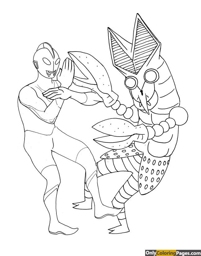 20 Best Ideas Printable Coloring Pages Ultraman Pokemon Coloring