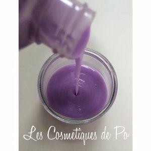 Gel douche à la violette