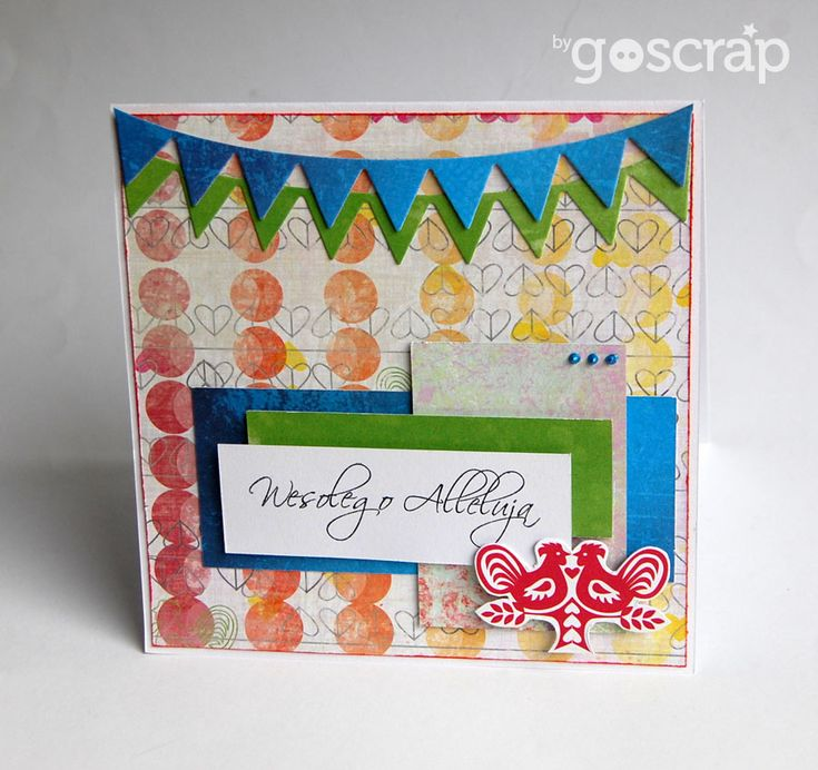 Easter card by clos #scrapbooking