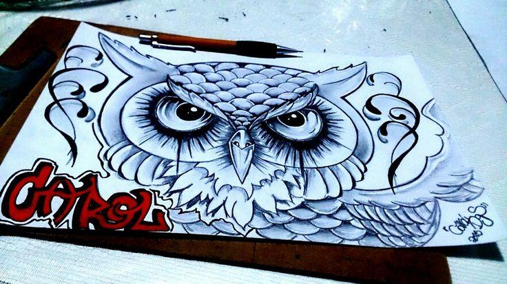 Desenho coruja