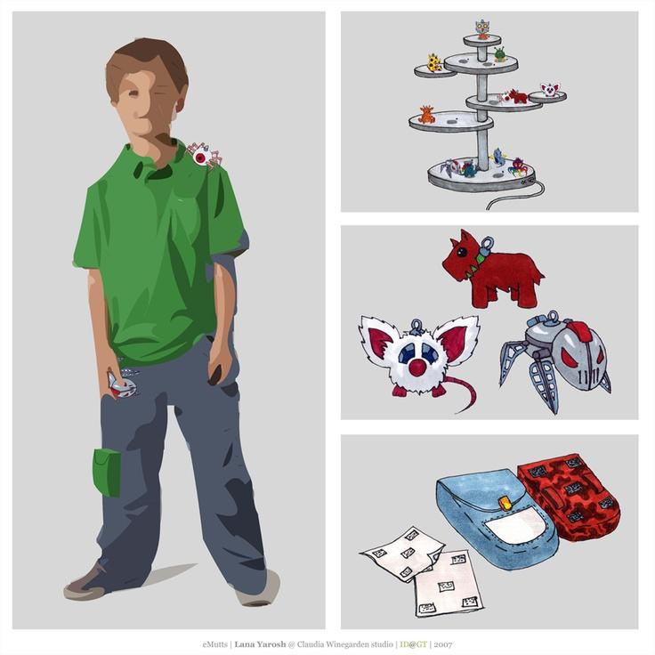 Developing an idea of eMutt sensor toys to help inform parent--child communication