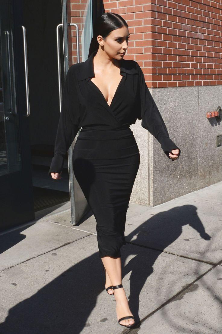 Dress black kim kardashian - 210 Of Kim Kardashian S Greatest Outfits