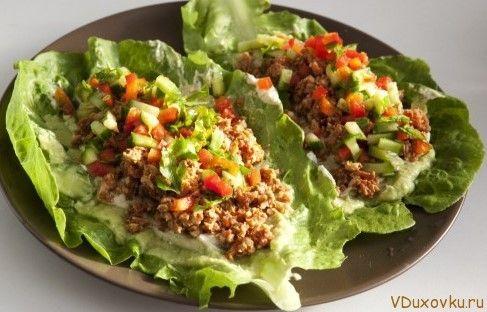 Сыроедческое тако / Вегетарианские и сыроедческие рецепты