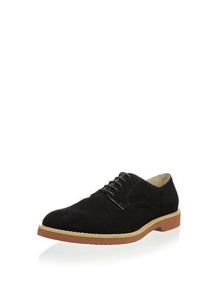 50% OFF Joseph Abboud Men's Jermaine Suede Plain Toe Oxford (Black Suede)
