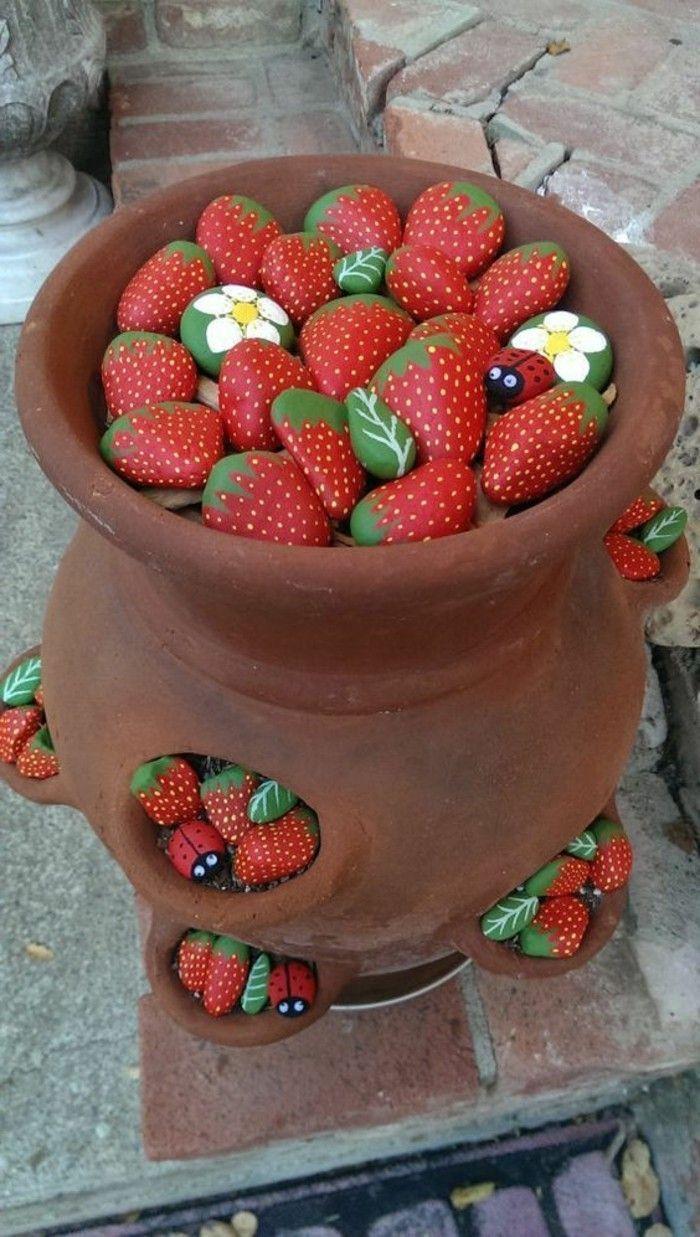 Gartendeko basteln Naturmaterialien – 35 Beispiele, wie Sie den Garten aufpeppen…