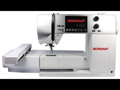 Bernina 560 Stickmaschine, Nähmaschine