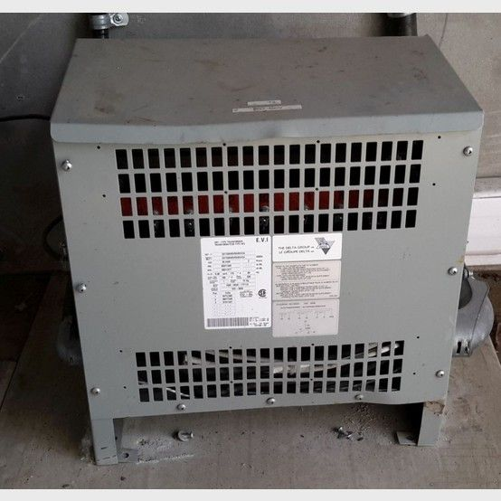 Delta electric transformer supplier worldwide | Used Delta 45 KVA transformer for sale - Savona Equipment