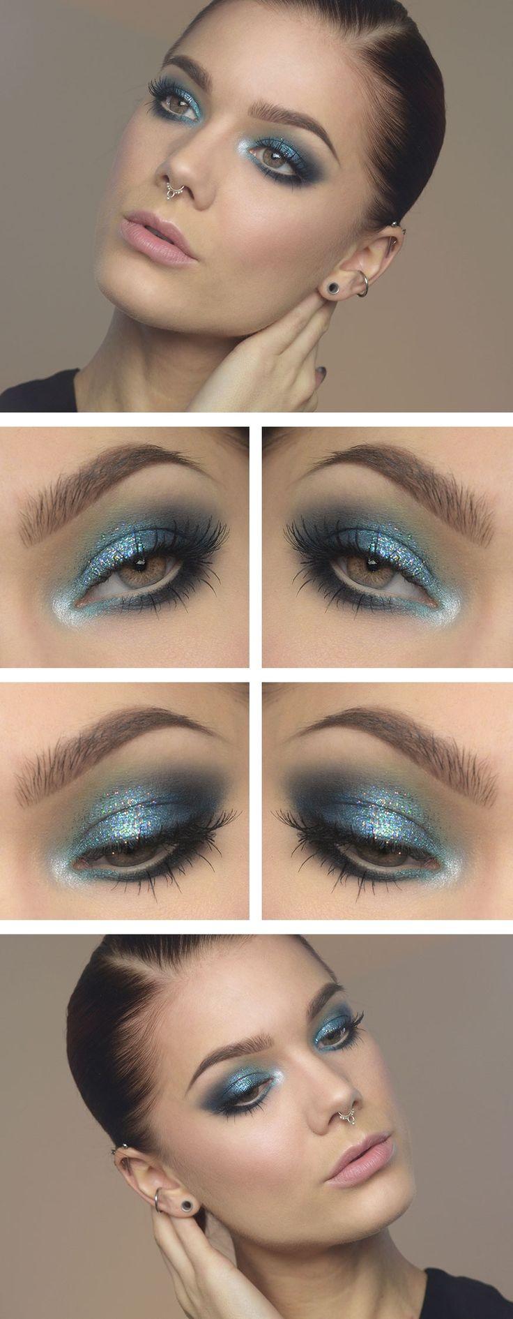Blue sparkles ♥ Linda Hallberg