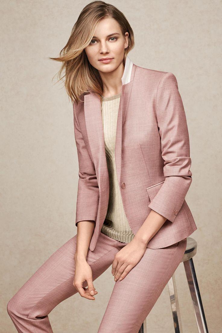 Розовый пиджак зауженного кроя - Покупайте прямо сейчас на сайте Next: Россия