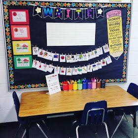 Teacher Designs: Kindergarten Writing Center