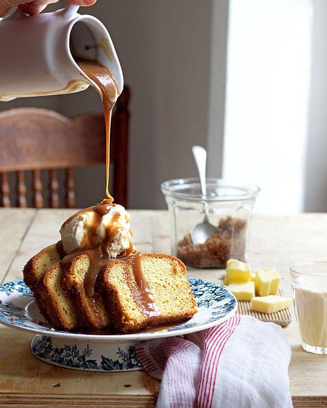 Butterscotch Sauce With Brown Sugar Melkkos Merlot In 2020 Sweet Sauce Butterscotch Sauce Homemade Custard