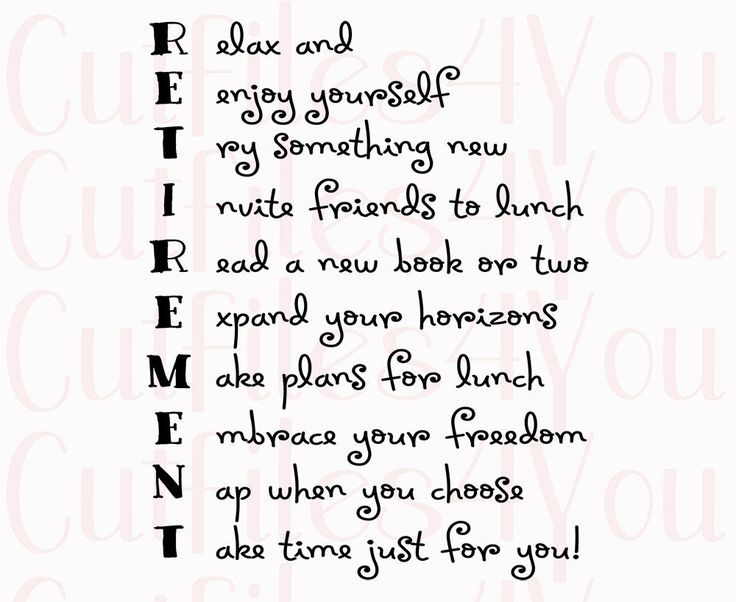 25+ great ideas about Retirement poems on Pinterest
