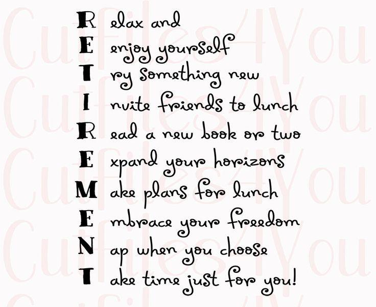 The 25+ best Funny retirement poems ideas on Pinterest ...