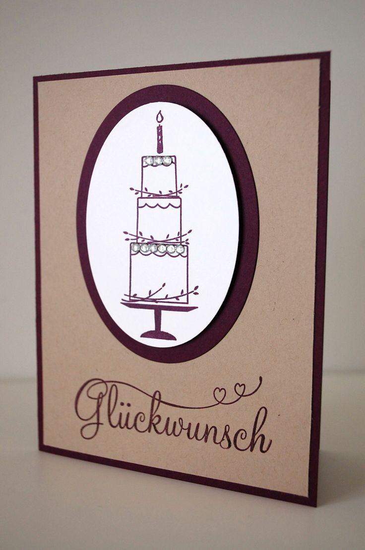 """Stampin' Up """"Perfekter Tag"""", Geburtstagskarte, Hochzeitskarte"""