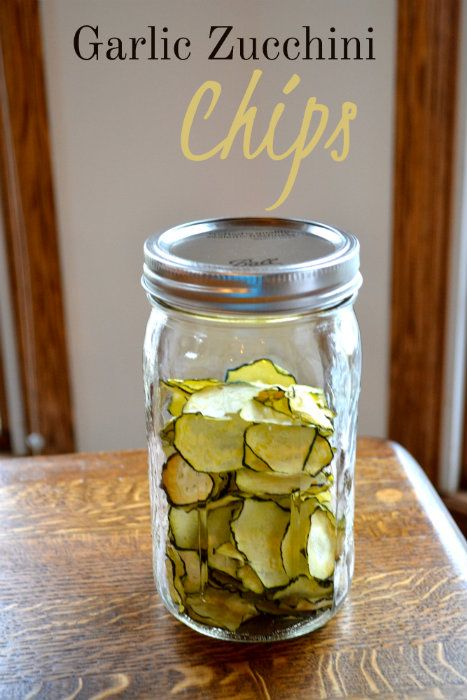 Garlic Zucchini Chips- Make The Best of Everything