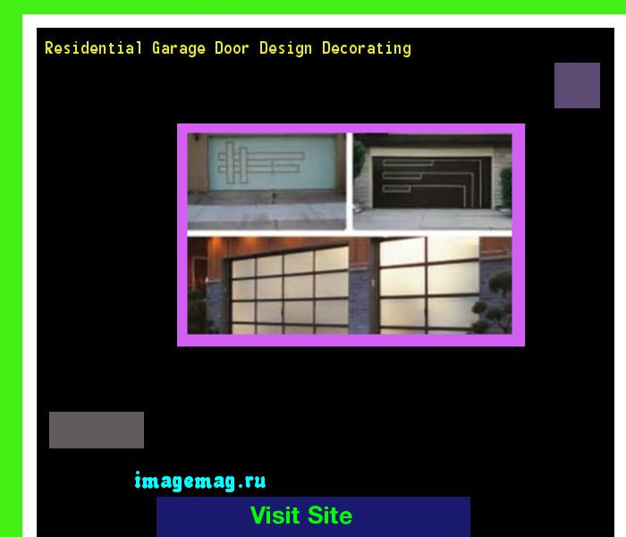 Residential Garage Door Design Decorating 094227 - The Best Image Search