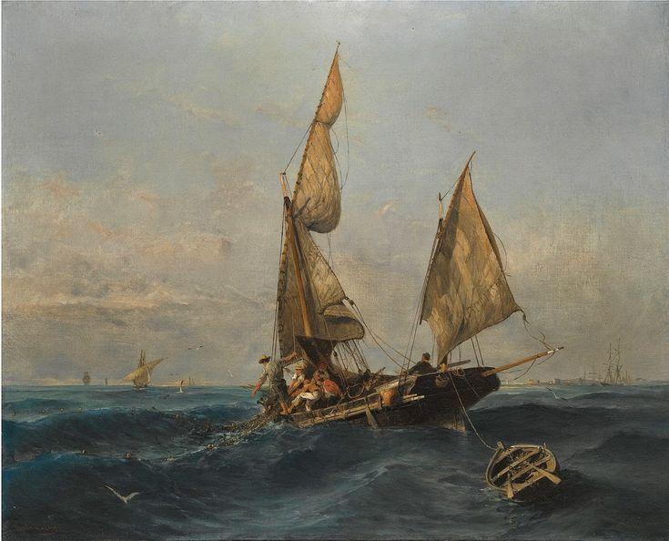 Ψαρόβαρκα σε ταραγμένα νερά
