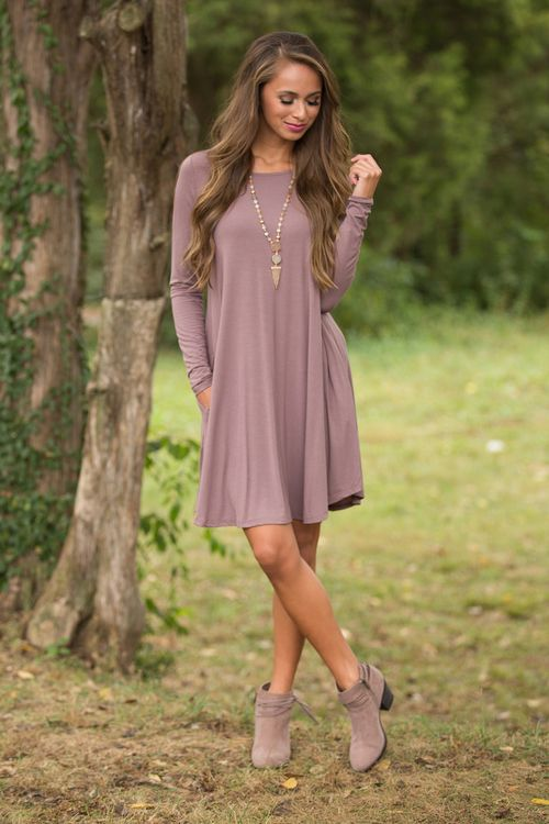 This simple and versatile dress is such a year-round essential!