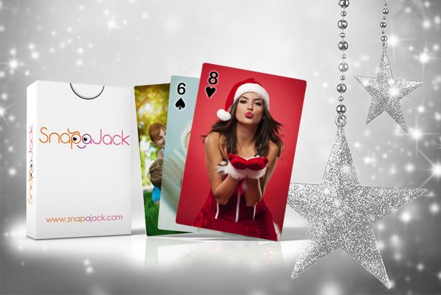 2 Packs of Personalised Playing Cards