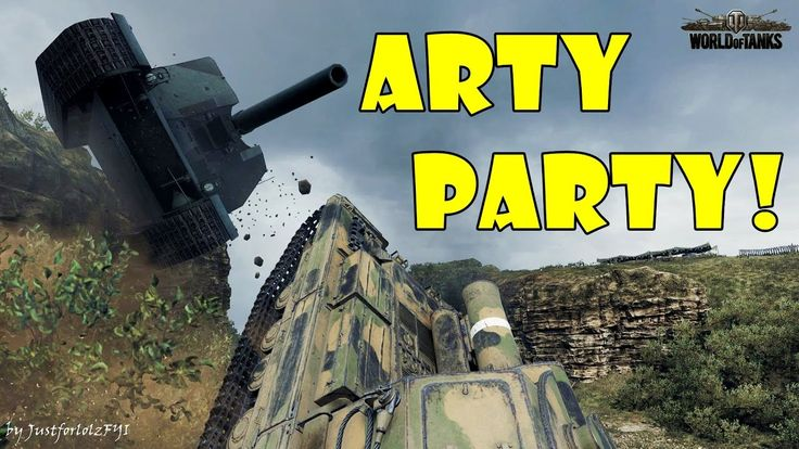 World of Tanks - Funny Moments | ARTY PARTY! #25