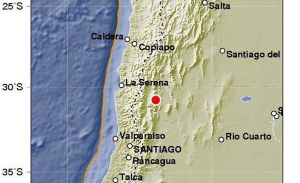 """(adsbygoogle = window.adsbygoogle    []).push();   Un sismo de magnitud 5,3 y otro de 2,8 se registraron este sábado en la provincia de San Juan, al oeste de Argentina, con una diferencia de 23 minutos entre ambos, informó el Instituto Nacional de Prevención Sísmica (Inpres). """"No..."""