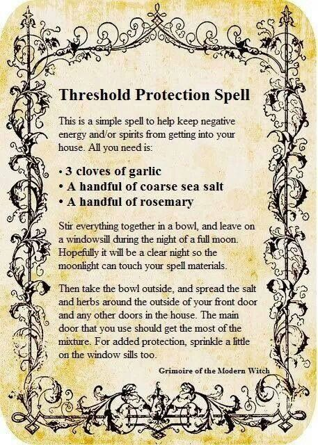 threshold protection spell