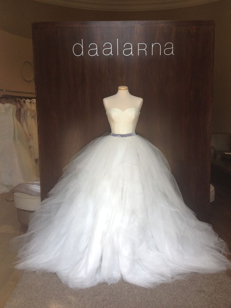 September 2014 Tulle Daalarna Couture wedding dress