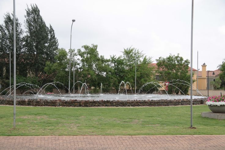 The access road to Windsor Gate, Midstream Estate. For more information, visit www.midrand-estates.co.za