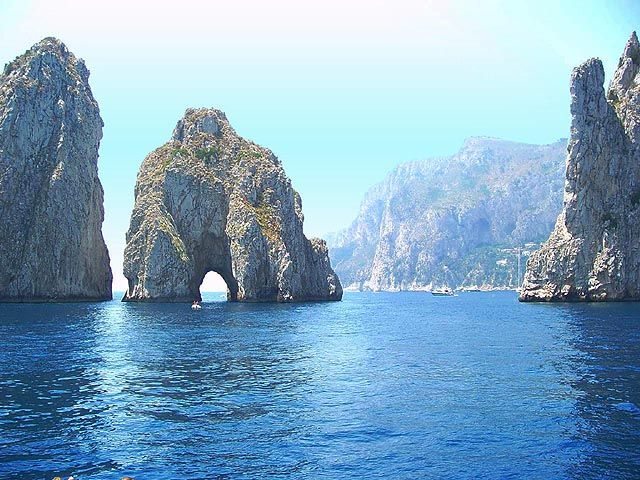 Isle of Capri, Italy - beautiful!  (OK so never thought of Capri until looking at Allie's board.  Yes, I think I would like it here!!!)