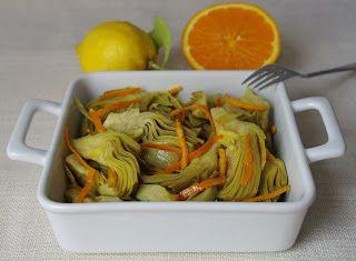 Denny Chef Blog: Carciofi agli agrumi