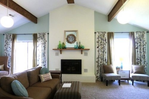 Valspar sage bud for the home pinterest paint colors - How to redo a living room under 100 ...