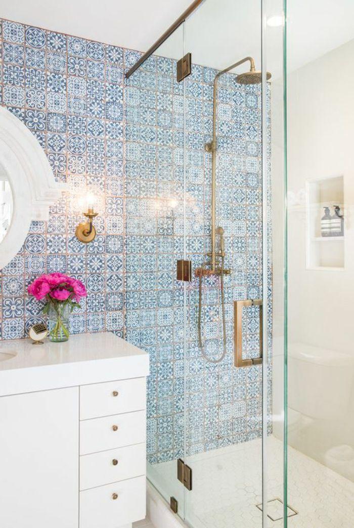 M s de 25 ideas incre bles sobre azulejos azules en - Banos azules decoracion ...