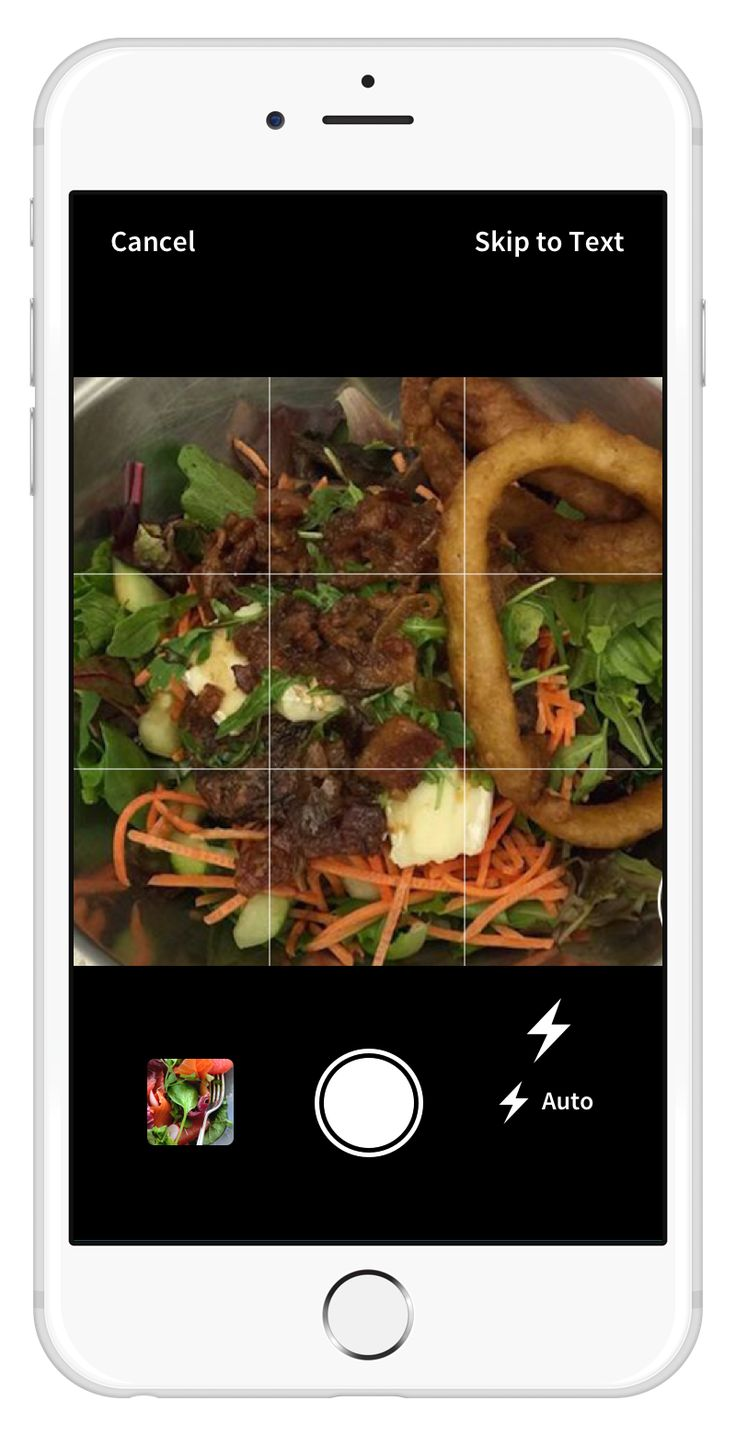 Rise App - the user takes photos of a meal in the app, which are sent to a personal nutritionist for recommendations
