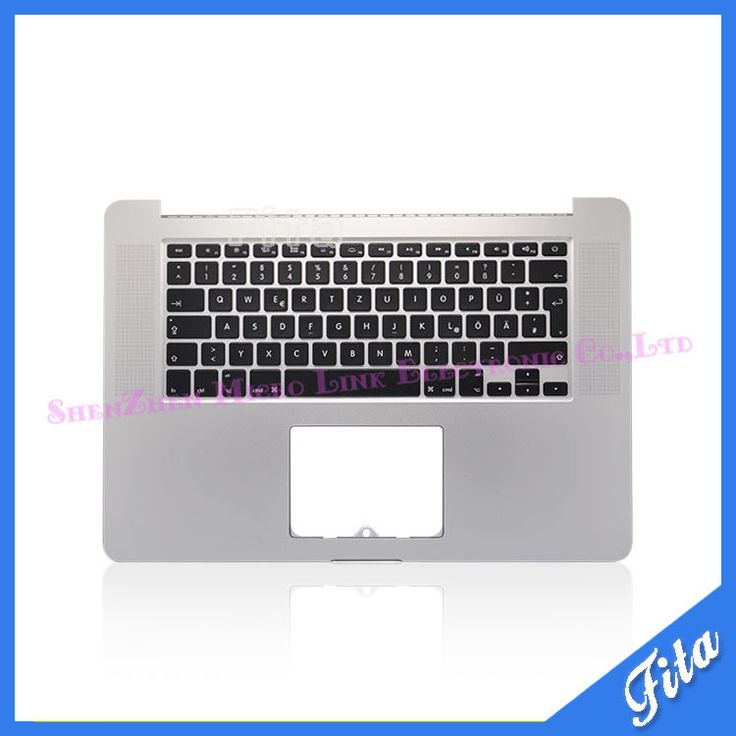 "100% New Topcase Palmrest with German GR Keyboard For MacBook Pro Retina 15"" A1398 MC975 MC976 2013"