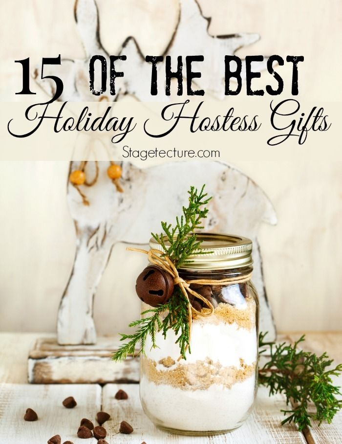 15 Thanksgiving Hostess Gifts to Show your Gratitude. Show your appreciation to the host or hostess with these gifts they will love! #holidays #gift #ideas http://stagetecture.com/15-thanksgiving-hostess-gifts/