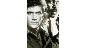 """L'Appuntamento con il primo episodio della serie filmica """"ARMA LETALE"""" con la coppia di attori Danny Glover e Mel Gibson é Mercoledì 20 Luglio alle 21.15 su Rete4."""