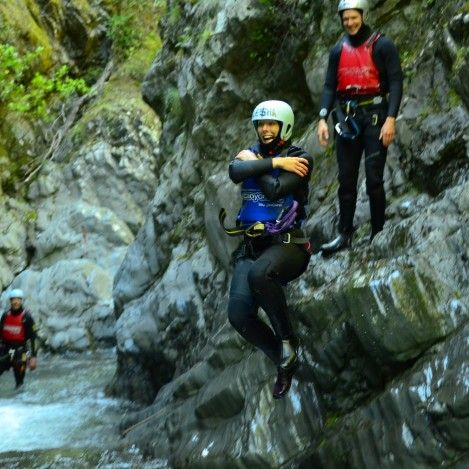Get wet n wild with the 12 mile delta Queenstown Canyon experience. Just 15 minutes from central Queenstown and no experience necessary, you'll be able to challenge yourself to take the plunge! #UltimateQueenstown