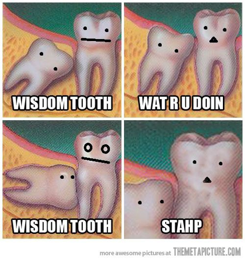 toothache-ing