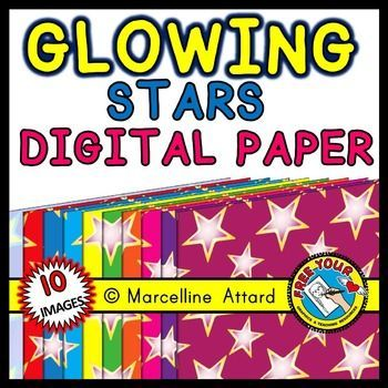 #FREE #CLIPART! #GLOWING #STARS #DIGITAL #PAPERS - CLIP ART  COLORS: 10 COLORFUL DESIGNS AS SHOWN ON PRODUCT COVER. SHAPE: A4 PORTRAIT (CAN BE ENLARGED)  IN THIS ZIPPED FOLDER, YOU WILL FIND 10 IMAGES (PNG, 300 DPI). These images will enhance any project!! They are crispy clear and so you can enlarge them as you desire.