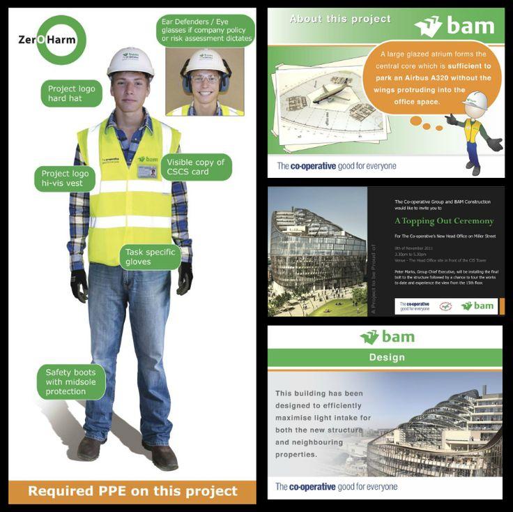 BAM construction site signage @1define