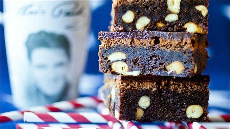 «Elvis brownies» - Liten langpanne (ca. 25x30 cm).