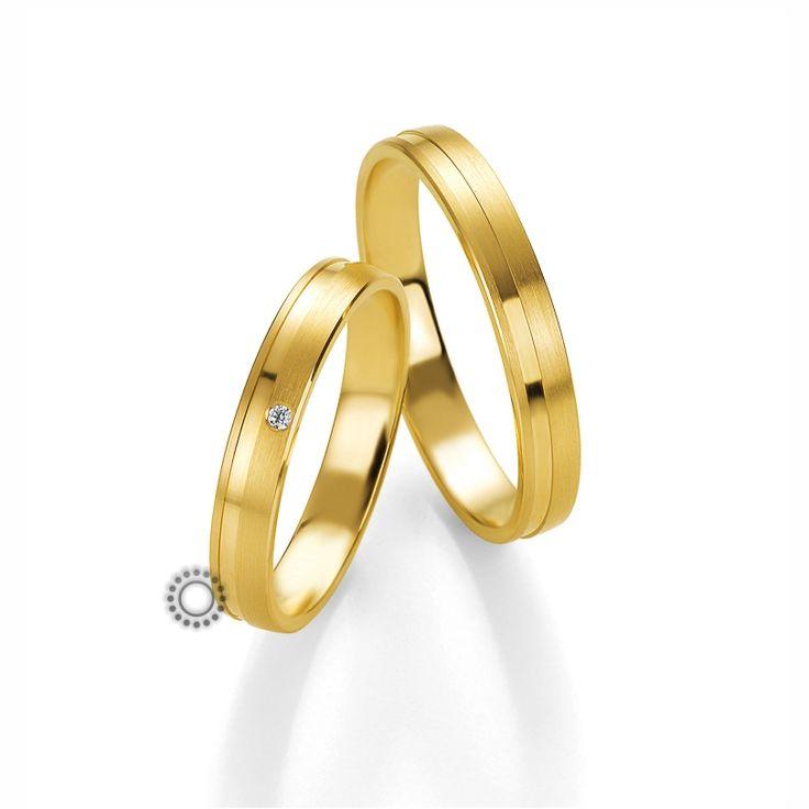 Βέρες γάμου BENZ 013 & 014 - Μοναδικές και μοντέρνες επίπεδες χρυσές βέρες Benz | Βέρες ΤΣΑΛΔΑΡΗΣ στο Χαλάνδρι #βέρες #βερες #γάμου #αρραβώνα
