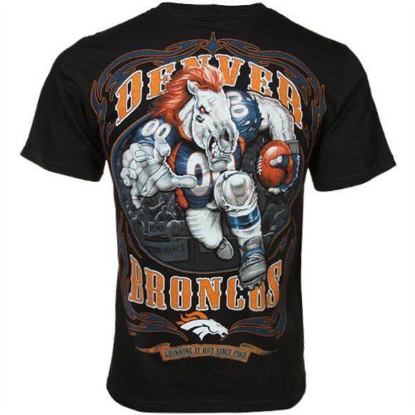 New NFL Denver Broncos Game Tee Player Football T-Shirt