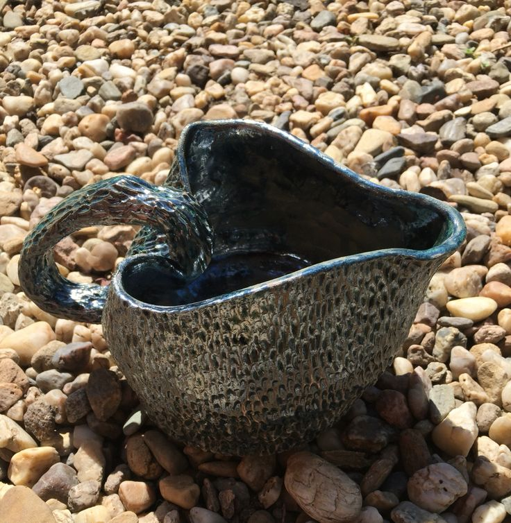 Watering can, ceramic, clay