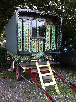 Gypsy wagon caravan bowtop. A beauty!