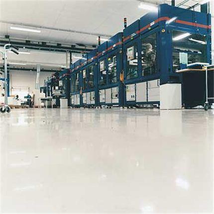 Barrikade EP ESD-C i industrimiljö