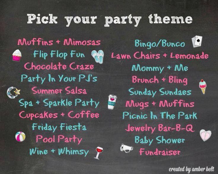 Origami Owl Party Theme Ideas Www.locketswithlori.origamiowl.com
