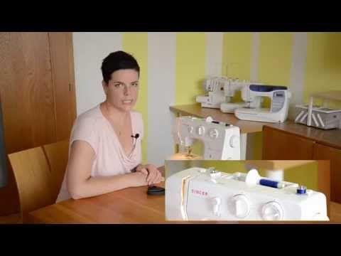 Šití pro začátečníky - Začínáme šít na šicím stroji - YouTube