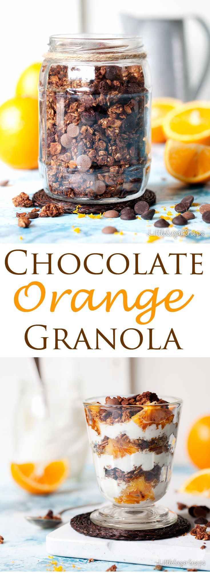 Chocolate Orange Granola is a breakfast take on the much loved chocolate-orange formula. Enjoy it with ice cold milk or pile it into a glass between layers of creamy yoghurt and fresh, charred oranges for a stylish breakfast worth getting out of bed for.