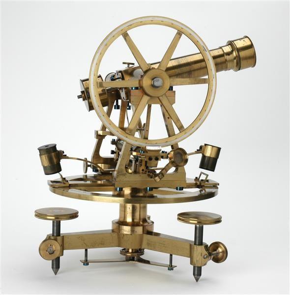 Theodolit mit gebrochenem Fernrohr Mathematisch-Physikalischer Salon
